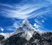 Blick auf Ama Dablam auf dem Weg zum Everest Base Camp