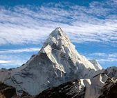 View of Ama Dablam on the way to Everest Base Camp