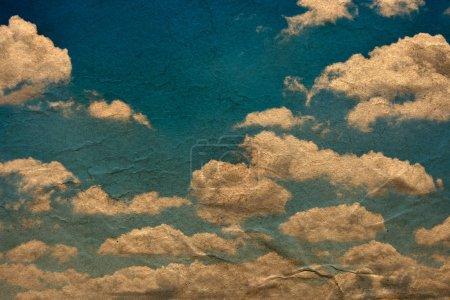 Foto de Fondo de fondos de pantalla con cielo azul y nubes - Imagen libre de derechos