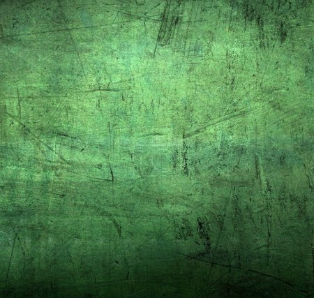 Photo for Green grunge background with scratches - Royalty Free Image