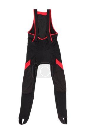 black cycling pants