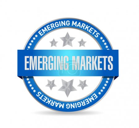 Emerging markets concept illustration design graph...