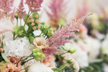 tender floral composition