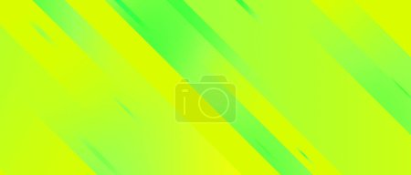 Photo for Fresh green geometric stripes background, gradient lines, dynamic effect - Royalty Free Image