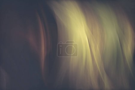 abstract background from tulle fabric in motion