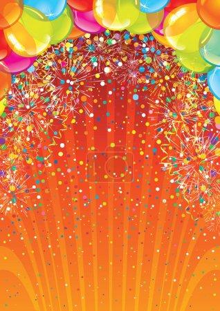 Celebration Birthday Backdrop. Image