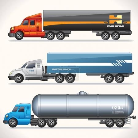 Abstract Modern Trucks