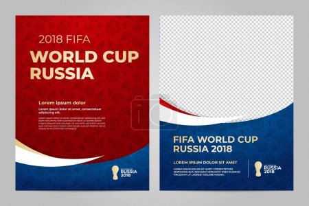 Russia 2018 Cup. Template