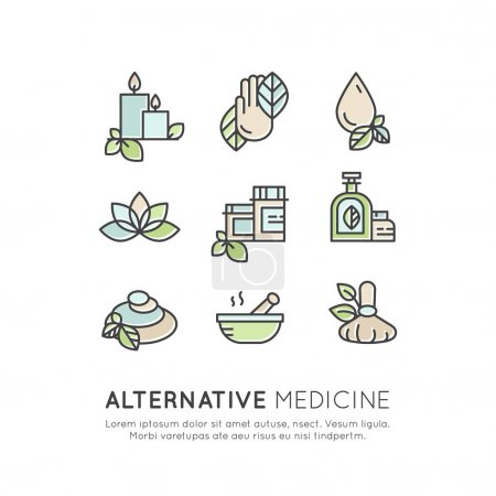 Alternative Medicine. IV Vitamin Therapy, Anti-Aging, Wellness, Ayurveda, Chinese Medicine
