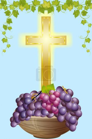 cross and grape 4