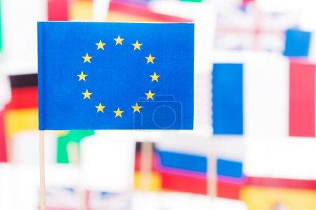 small paper European Union flag