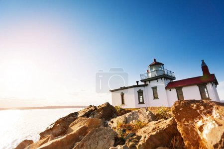 buildings of West Point Lighthouse