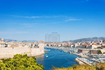 Beautiful picture of Mediterranean coastline