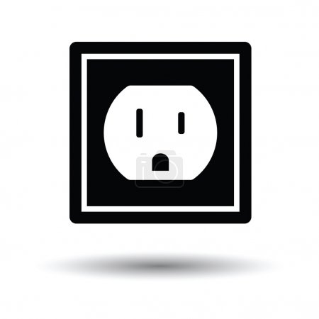 Electric outlet icon