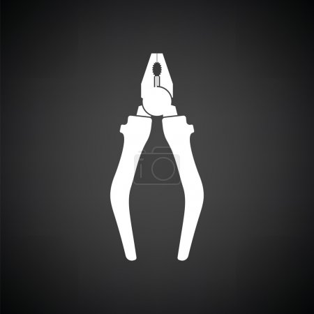 Pliers tool icon