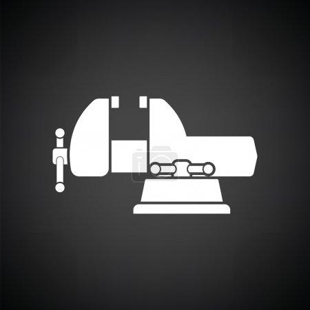 white vise icon