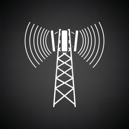 Cellular antenna icon