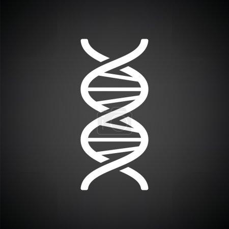 DNA icon  illustration.