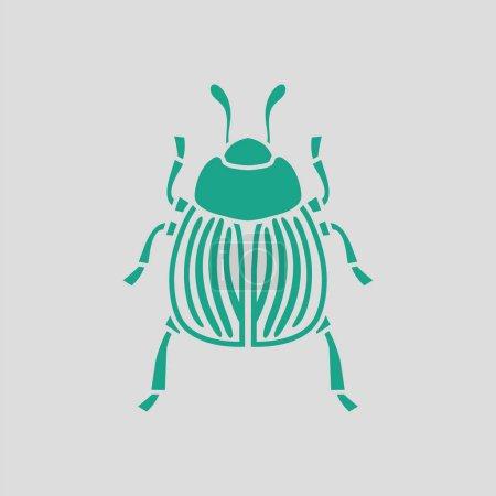 Colorado beetle icon