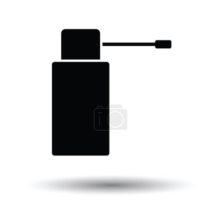 Inhalator icon with shadow design