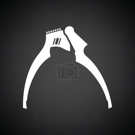 Garlic press icon