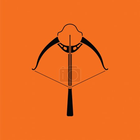 Crossbow icon  illustration.