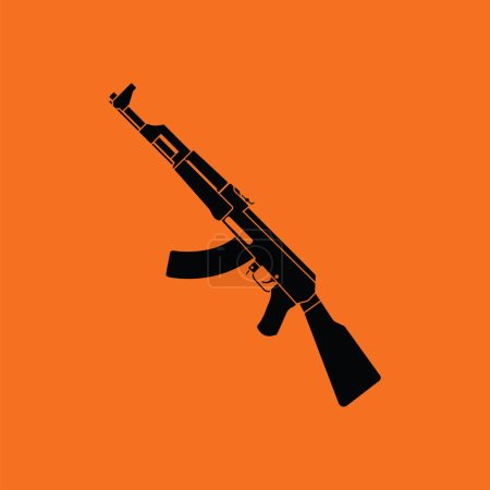 Russian weapon rifle icon