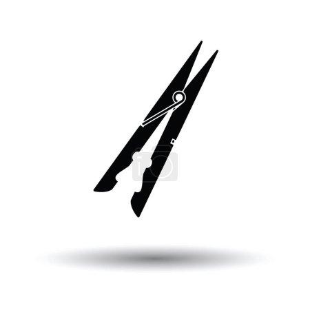 Cloth peg icon