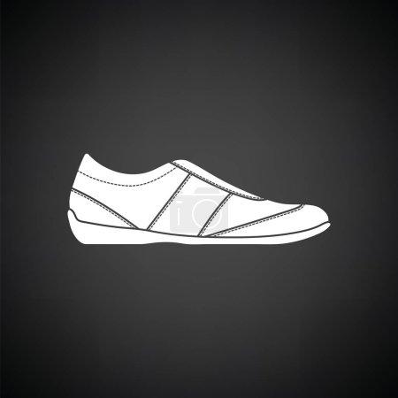Man casual shoe icon