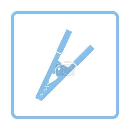 Crocodile clip icon