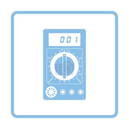 Multimeter icon illustration.