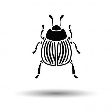 Colorado beetle icon