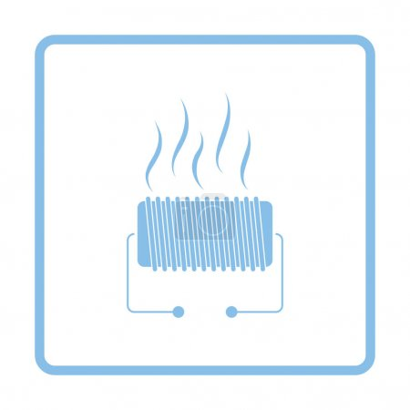 Electrical heater icon