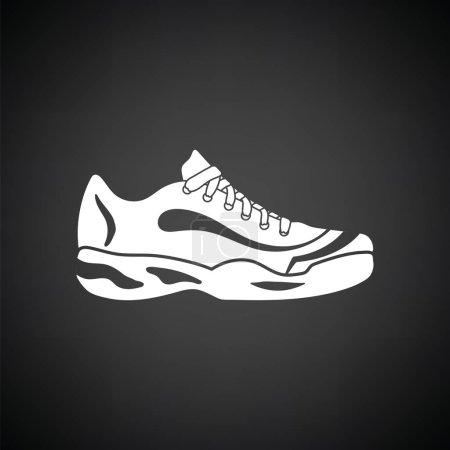 Tennis sneaker icon