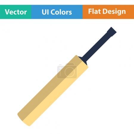 Cricket bat icon