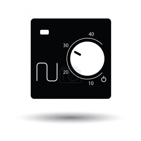 Warm floor wall unit icon