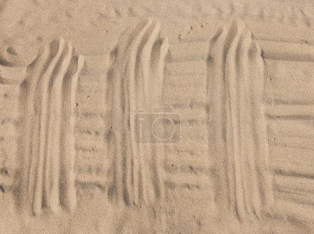 Sand texture. Sandy beach for background....