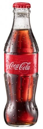 Kiev, November, 27.Ukraine 2017. Classic bottles of Coca-Cola or