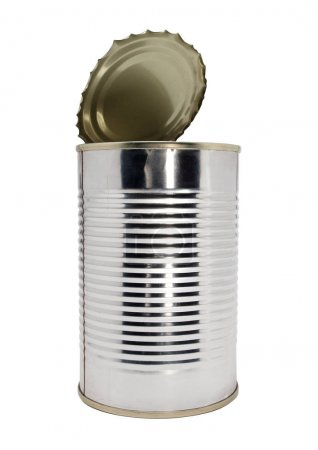 Metal tin one