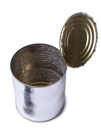 Metal tin five