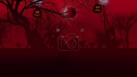 Halloween holiday concept