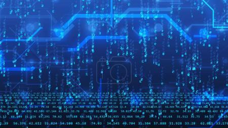Circuit board and digital numbers