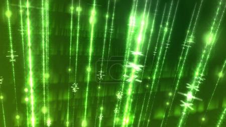 futuristic glowing lines