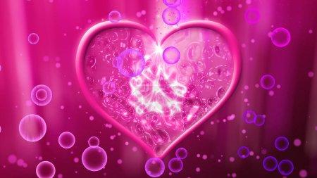 tender rosy heart
