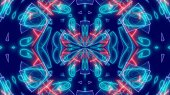 Hypnotic Psychedelic Background Illustration