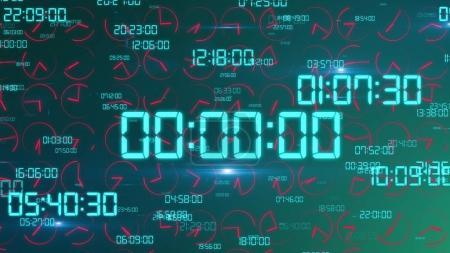 Advanced Timer Screen Illustration