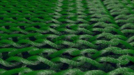 Linked Green Material Fibers