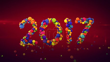 New Year Balls Show 2017