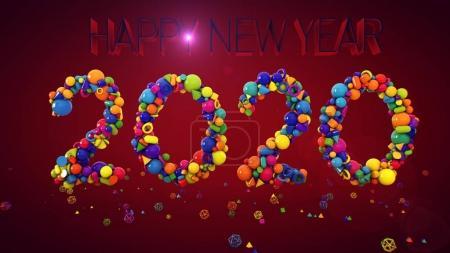 New Year Balls Display 2020