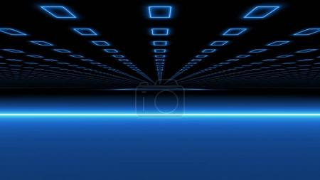 Cyberspace Black and BlueTunnel Drive
